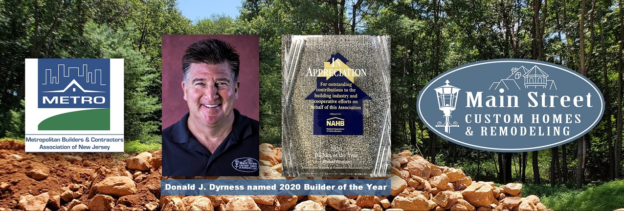 Don Dyrness-2020 Builder of the Year
